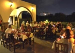 Dining under the stars